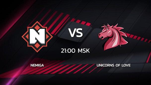 2 сезон Kalashnikov Cup: Unicorns of Love 16-7 Nemiga (карта Inferno)