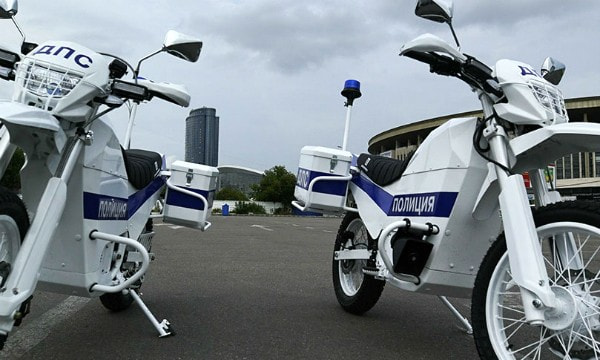 «Калашников» представил электромотоциклы ИЖ для полиции
