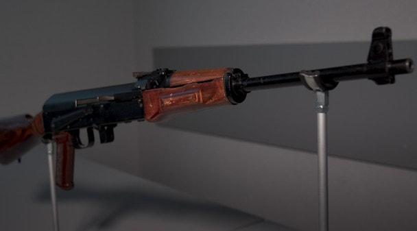 100 лет «Красной Армии»: Автомат под безгильзовый патрон АБП, опытный