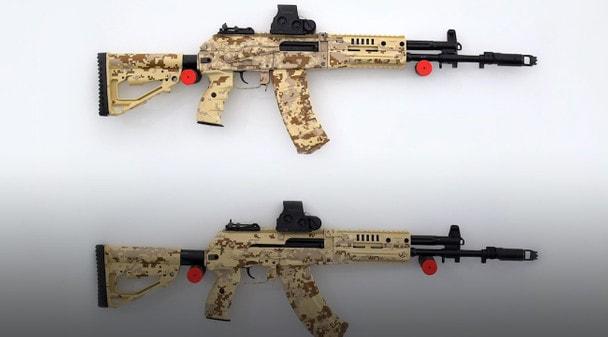 АК-12 и АК-15 приняты на вооружение Минобороны России