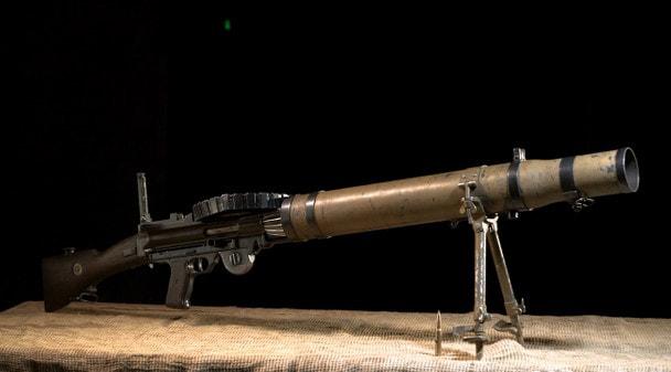 Арсенал Первой мировой: ручной пулемет Льюиса