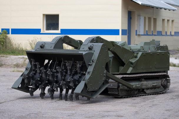 Многофункциональный робототехнический комплекс разминирования «Уран-6»