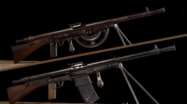 Арсенал Первой мировой: ручной пулемет Шоша