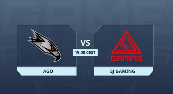 GameAgents League Season 3: SJ Gaming 16-11 AGO (карта Train)