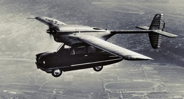 Летающие автомобили: история мечты