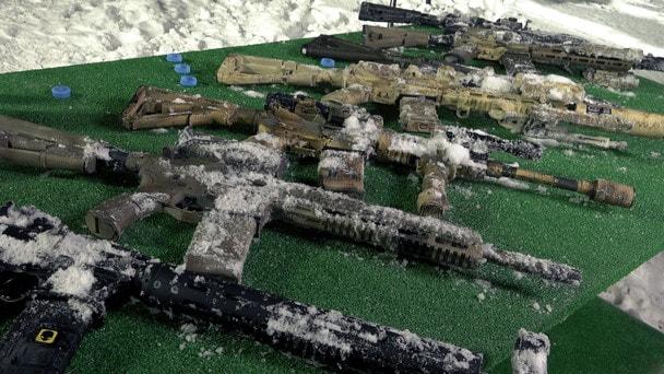 Мифы об оружии: АК VS AR. Обледенение