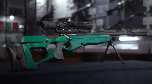 100 лет «Красной Армии»: Снайперская винтовка СВ-98