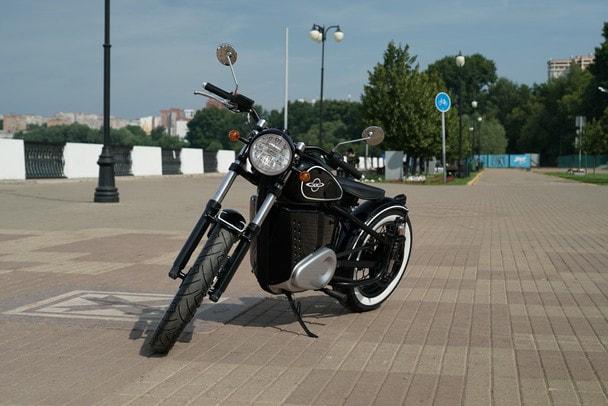 «Калашников» презентовал электромотоцикл ИЖ-49