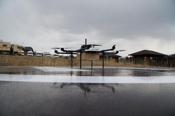 Ваша еда уже прилетела!«Популярная механика» о ZALA AERO DRONE DELIVERY