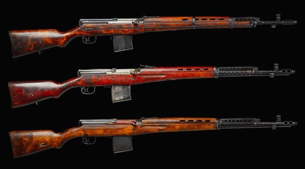 Самозарядные винтовки Токарева, часть 2