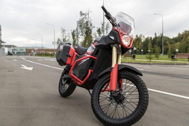 Концерн «Калашников» представил электромотоцикл UM-1 для гражданского рынка