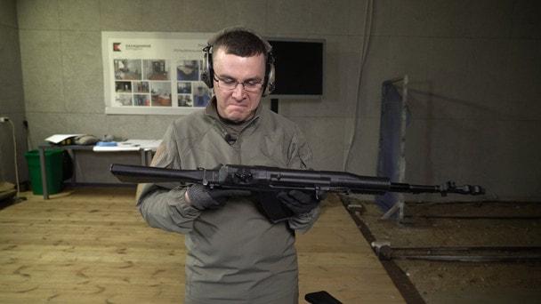 АН-94 в руках спортсмена: обзор и сравнение с АК-74