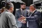 Генеральный директор Рособоронэкспорта Александр Михеев посетил демоцентр «Калашников»