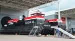 «Калашников» показал новейшее судно на воздушной подушке с гибкими скегами «Хаска-10»