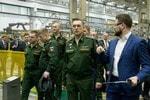 Визит делегации Министерства обороны РФ на производственную площадку «Калашникова»