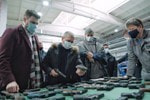 Индустриальный директор кластера вооружений Ростеха Бекхан Оздоев посетил производственные площадки ГК «Калашников»