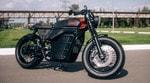 «Калашников» представил прототип электоромотоцикла в стиле cafe racer