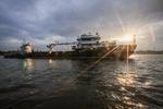 Новое гидрографическое судно «Николай Скосырев» отправилось к месту базирования в Мурманск
