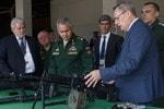 «Калашников» представил новые разработки Министру обороны С. К. Шойгу